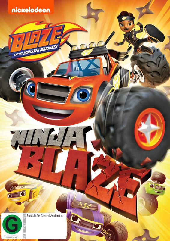 Blaze and the Monster Machines: Ninja Blaze on DVD