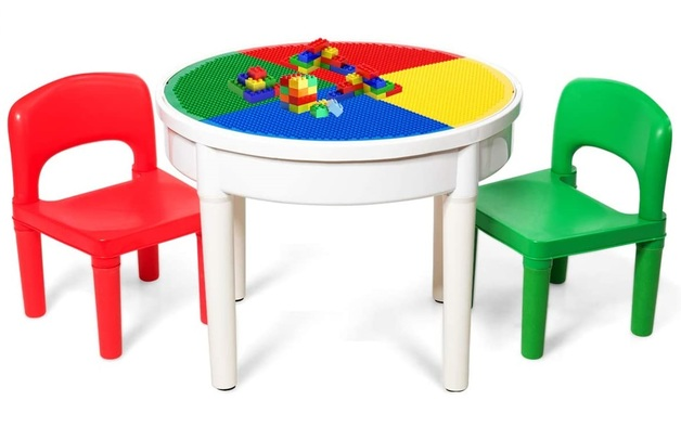 Kids Round 3-in-1 Activity Table (Primary)