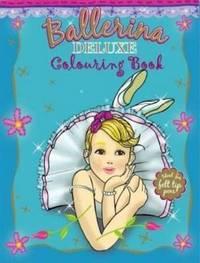 Ballerina Duluxe Colouring Book by Pancake