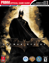 Batman Begins - Prima Official Guide for PS2