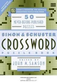 Simon & Schuster Crossword Puzzle B by SAMSON image