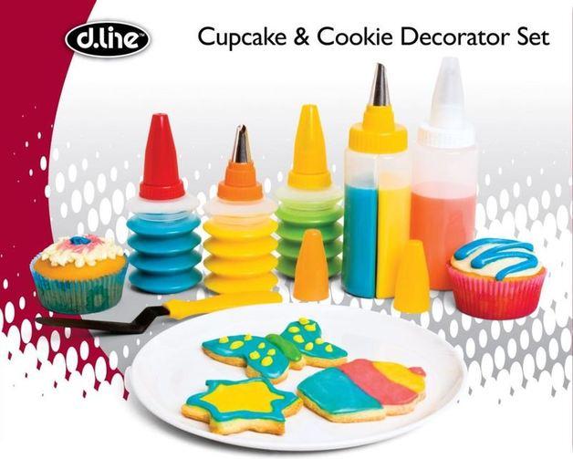 Cookie & Cupcake Decoration Set