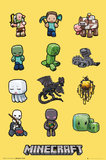 Minecraft Characters Maxi Poster (194)