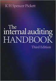 The Internal Auditing Handbook by K.H. Spencer Pickett image