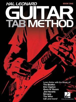 Hal Leonard Guitar Tab Method Book One by Jeff Schroedl image