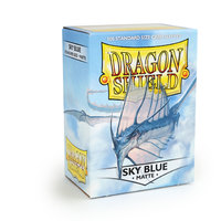 Dragon Shield Matte Sky Blue Sleeves