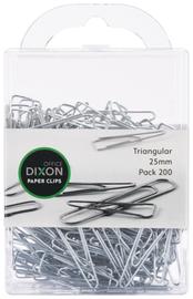 Dixon Paper Clips 25mm Tri Pack 200