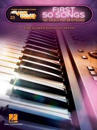 First 50 Songs You Should Play On Keyboard by Hal Leonard Publishing Corporation image
