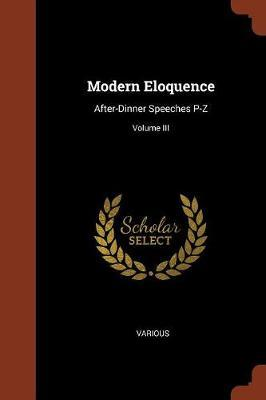 Modern Eloquence by Various ~ image