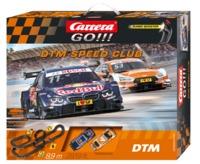 Carrera: Go!!! - DTM Speed Club Slot Car Set (BMW/Audi)