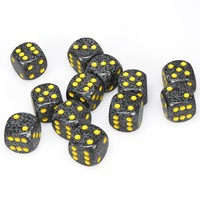 Chessex: D6 16mm Speckled Dice - Urban Camo