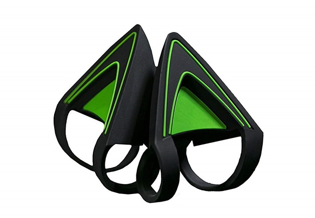 Razer Kitty Ears for Kraken Headset (Green) for PC