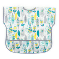 Bumkins: Waterproof Junior Bib - Feathers