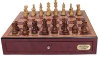 """Dal Rossi: Staunton - 18"""" Wooden Chess Set (Mahongany/Sheesham)"""