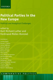 Political Parties in the New Europe image