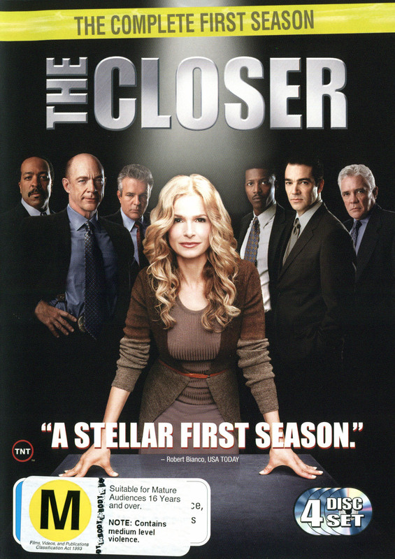 The Closer - Season 1 on DVD
