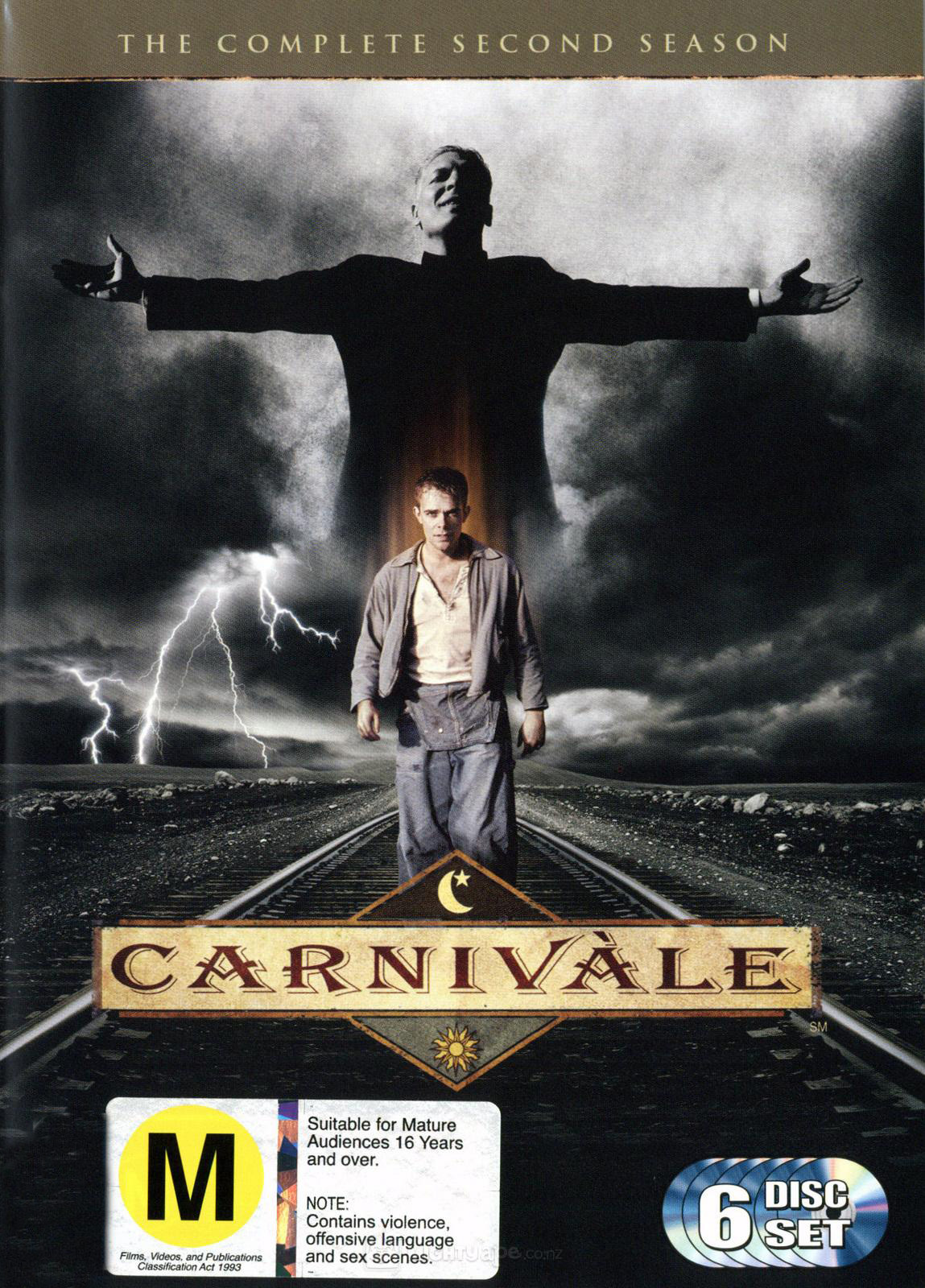 Carnivale - Complete Season 2 (6 Disc Set) on DVD image