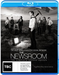The Newsroom - The Complete Second Season on Blu-ray