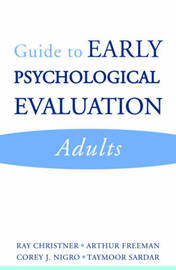 Guide to Early Psychological Evaluation by Ray W. Christner image