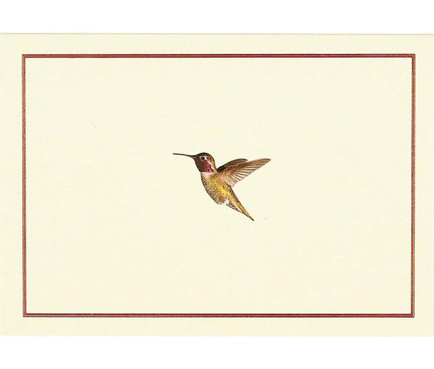 Hummingbird Flight Note Cards (14 Cards/Envelopes)