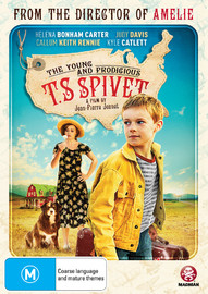 The Young And Prodigious T.s Spivet on DVD