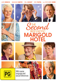 The Second Best Exotic Marigold Hotel on DVD