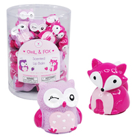 Owl / Fox - Scented Lip Balm