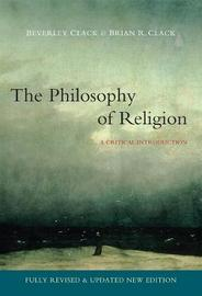 Philosophy of Religion by Beverley Clack image