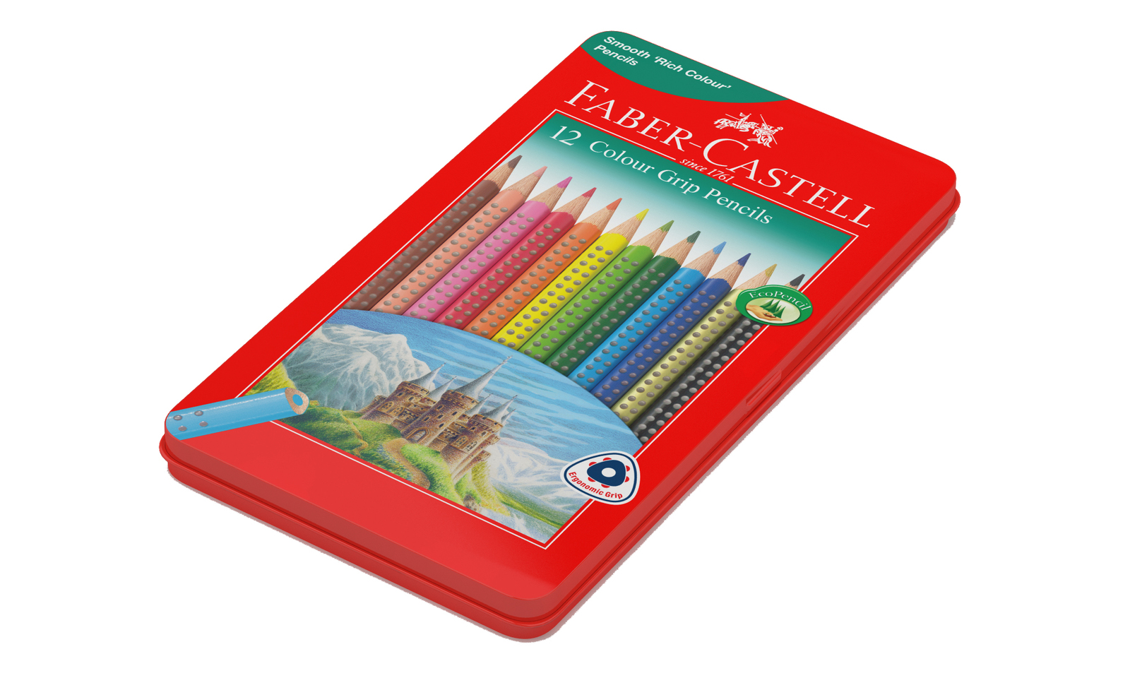 Faber-Castell: Watercolour (Tin of 12) image