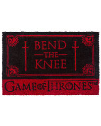 Game Of Thrones - Bend The Knee Door Mat