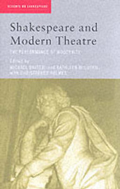 Shakespeare and Modern Theatre image