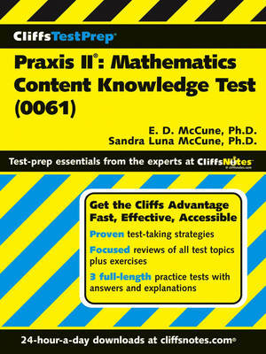 Praxis II: Mathematics Content Knowledge (Test 0061) by Ennis Donice McCune image