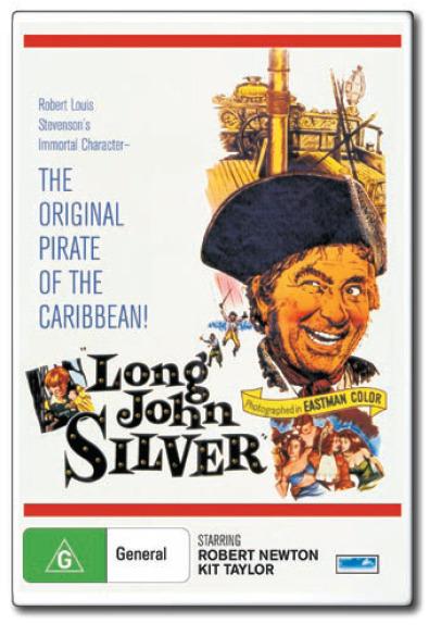 Long John Silver on DVD