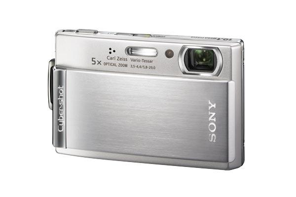 Sony DSCT300S 10.1MP Digital Camera - Silver