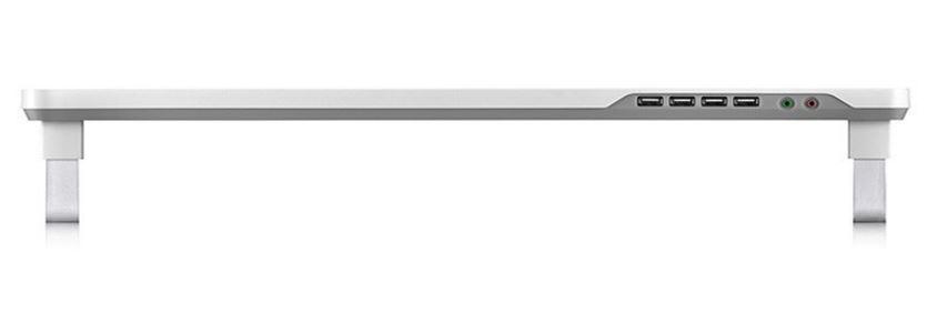 Deepcool M-Desk F1 Ergonomic Monitor Stand - Grey image
