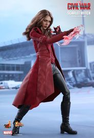 """Captain America 3 - Scarlet Witch 12"""" Figure image"""
