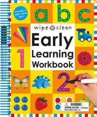 Wipe Clean: Early Learning Workbook by Roger Priddy