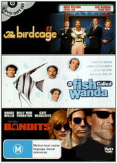 Birdcage / A Fish Called Wanda / Bandits (3 Disc Set) on DVD