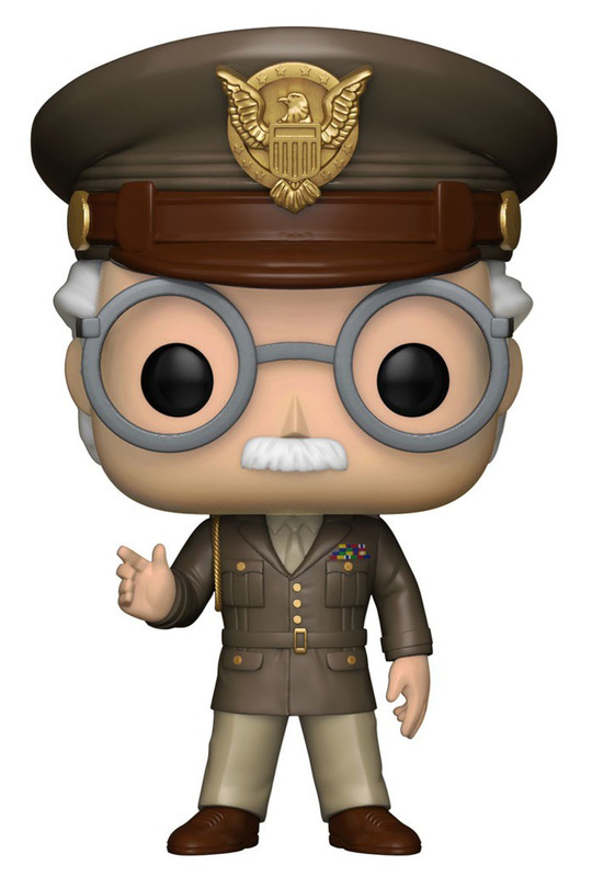 Stan Lee (The First Avenger Ver.) - Pop! Vinyl Figure