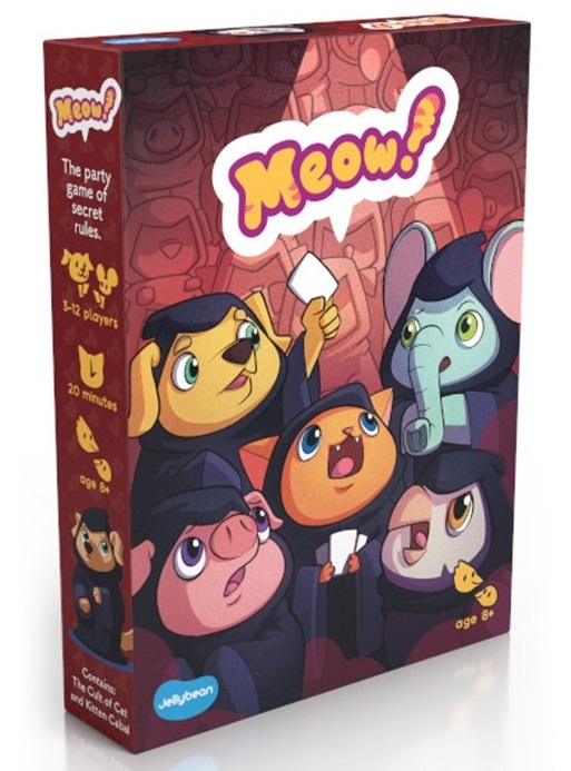 Meow!: The Cult of Cat - Party Game