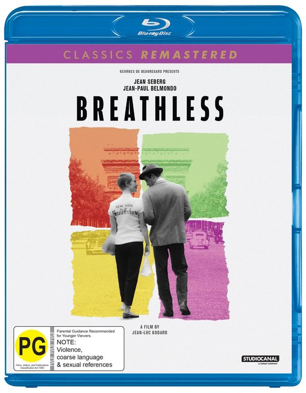 Classics Remastered: Breathless (1960) on Blu-ray