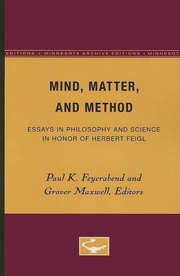 Mind, Matter, and Method image