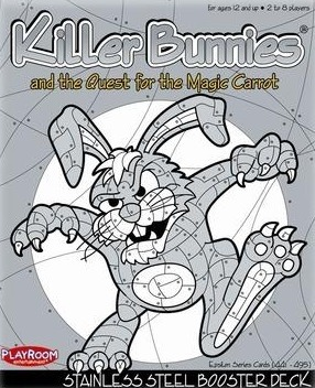Killer Bunnies - Stainless Steel Booster Pack