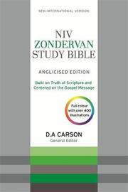 NIV Zondervan Study Bible (Anglicised) by New International Version