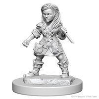 D&D Nolzur's Marvelous: Unpainted Minis - Halfling Female Rogue image
