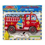 Melissa & Doug: Fire Truck Chunky Puzzle