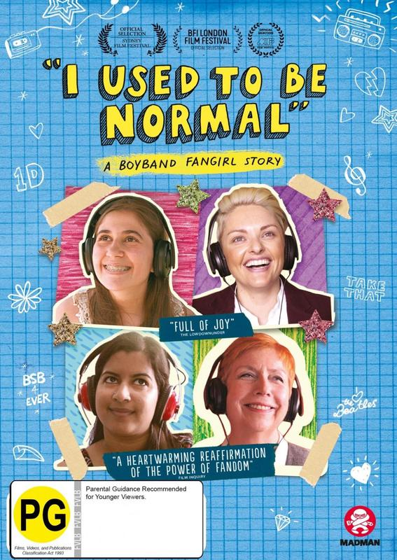 I Used To Be Normal - A Boyband Fangirl Story on DVD