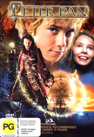 Peter Pan (2003) on DVD