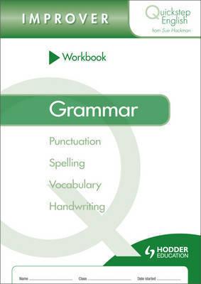 Quickstep English Workbook Grammar Improver Stage by Sue Hackman