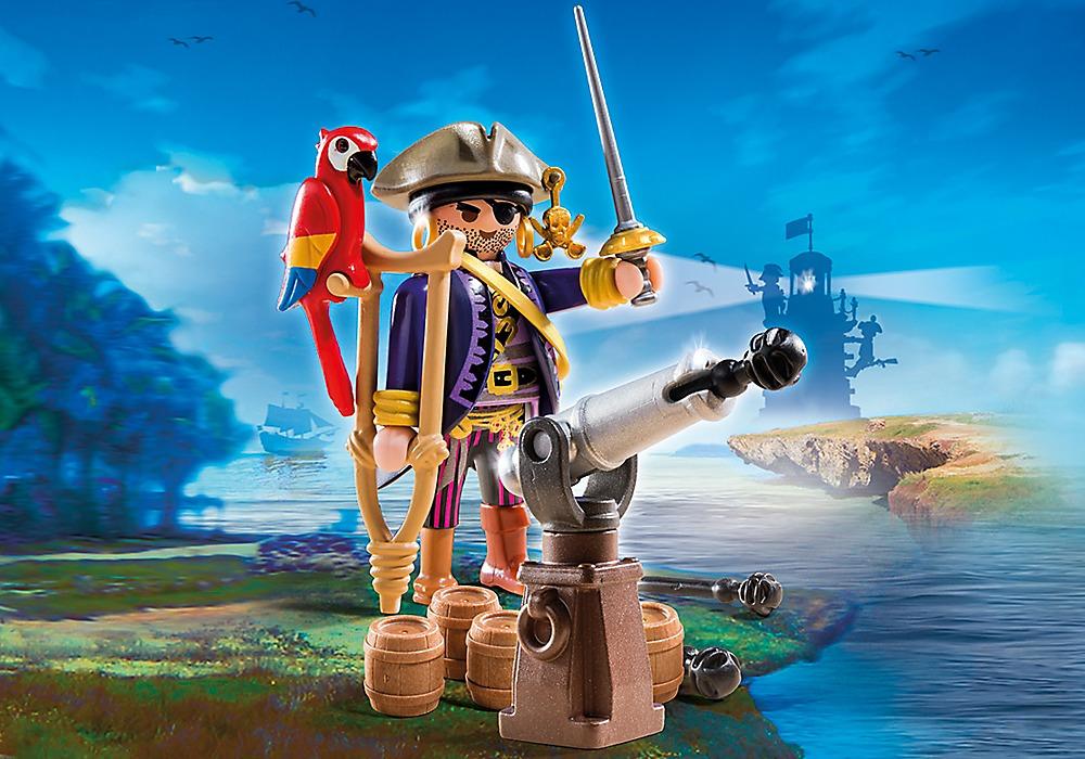 Playmobil: Pirates Captain (6684) image